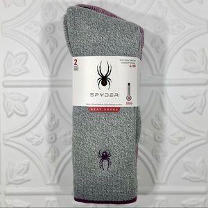 2pr SPYDER Heat Zone Heat Socks